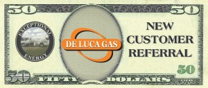 Deluca 50 Dollar Referral Coupon Front